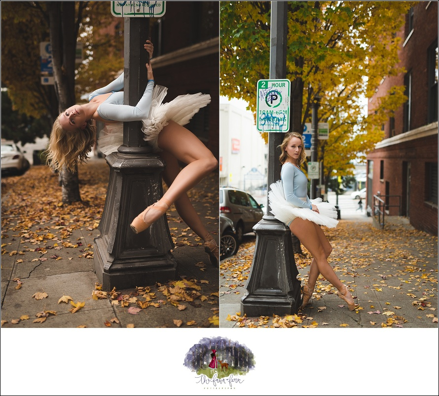 dance photography,downtown seattle,downtown seattle dance photography,senior session,urban ballet,urban ballet session,urban dance,